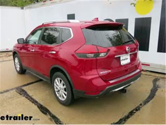 Nissan Rogue Towing Capacity >> Etrailer Com Trailer Hitch Receiver Custom Fit Matte Black Finish Class Iii 2