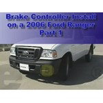 Trailer Brake Controller  Installation -  2006 Ford Ranger