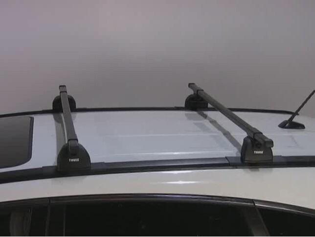 Awesome Thule Podium Roof Rack Installation   2008 Honda CR V Video | Etrailer.com