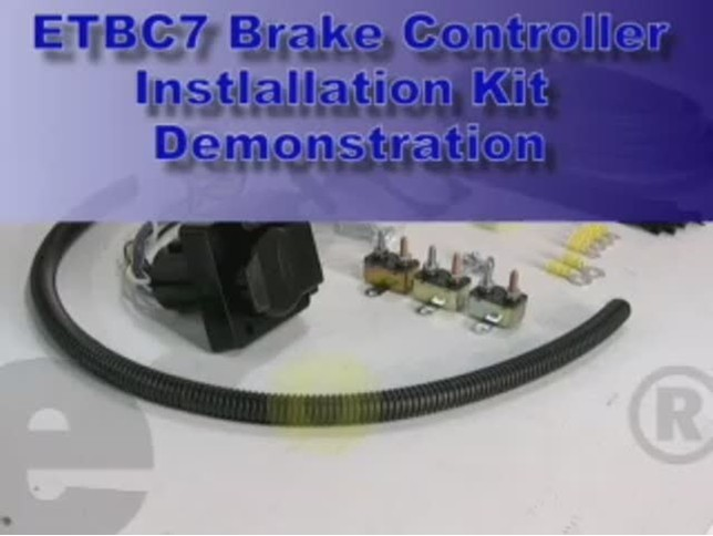 trailer brake controller installation wiring kit review video | etrailer com