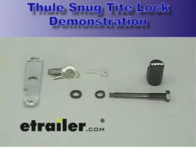 Thule Snug Tite Hitch Lock And Anti Rattle Device Thule