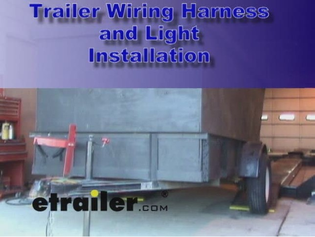 Trailer Wiring and Light Replacement Demonstration Video | etrailer.com