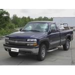 Trailer Hitch Installation - 2001 Chevrolet Silverado 1500 Series