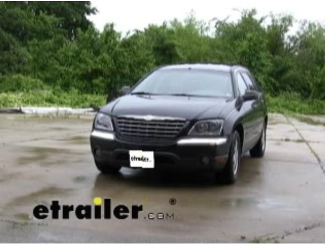 2004 Chrysler Pacifica Black 2004 Chrysler Pacifica