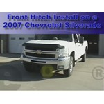 Front Mount Trailer Hitch Installation - 2007 Chevrolet Silverado 3500 HD