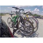 Curt 4 Bike Platform Rack Test Course