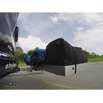 Video in use curt hitch cargo carrier c18100