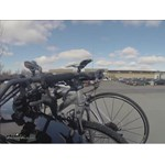 Hollywood Racks Expedition Trunk Bike Rack Test Course