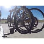 Hollywood Racks Sport Rider SE  4 Bike Rack with Cargo Carrier Test Course