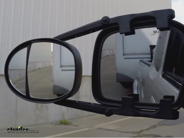 K Source Universal Dual Lens Towing Mirrors Clip On