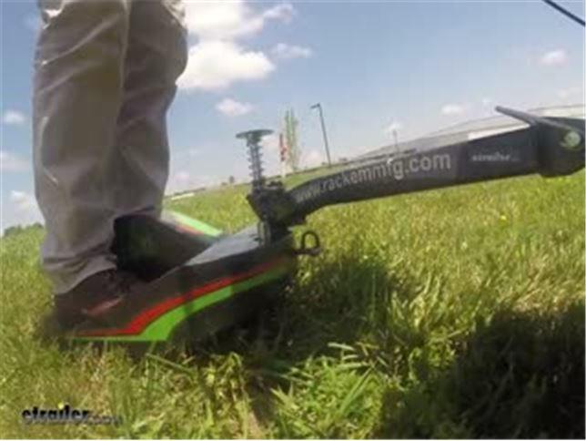 Rack'em E-Z Ride Sulky Wheel for Lawn Mowers