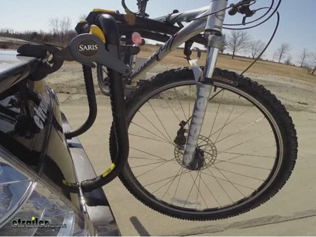 Saris Bones Rs 3 Bike Rack Test Course Video