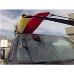 Yakima JayLow Kayak Carrier Test Course