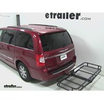 Pro Series Hitch Cargo Carrier Review - 2013 Chrysler Town and Country