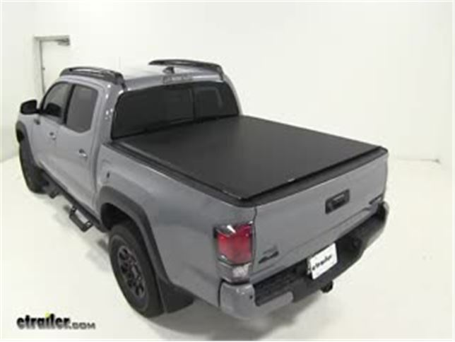 Toyota Tacoma Bed Cover >> Access Tonnosport Soft Roll Up Tonneau Cover Installation 2017