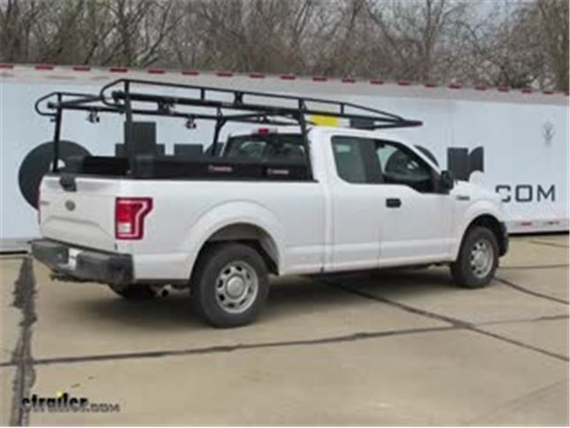 2017 Ford F150 Lifted >> Air Lift Ride Rear Helper Springs Installation 2017 Ford F 150
