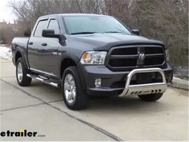 Dodge Ram Bull Bar >> Aries Bull Bar With Removable Skid Plate 3 Tubing Polished Stainless Steel