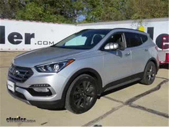 Today On Our 2017 Hyundai Santa Fe, Weu0027ll Be Doing A Test Fit On The Aries  StyleGuard Custom Auto Floor Liners With The OmniGrip Tri Layer For The  Front.