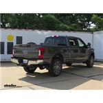 B and W 5th Wheel Trailer Hitch Replacement Slider Base Installation - 2018 Ford F-350 Super Duty