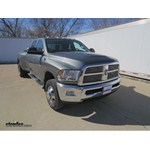 B and W Companion 5th Wheel Trailer Hitch Installation - 2011 Ram 3500