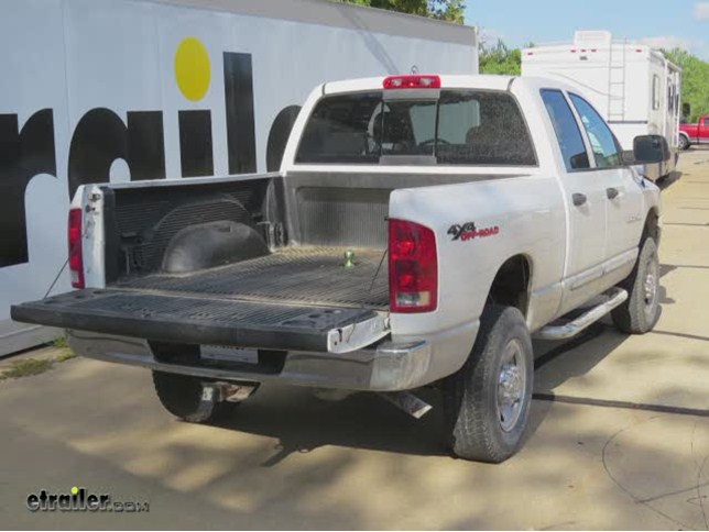 b and w 5th wheel trailer hitch installation 2004 dodge ram pickupb and w 5th wheel trailer hitch installation 2004 dodge ram pickup video etrailer com