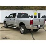 Gooseneck Trailer Hitch Installation - 2006 Dodge Ram Pickup