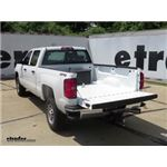 B and W Underbed Gooseneck Trailer Hitch Installation - 2016 Chevrolet Silverado 2500
