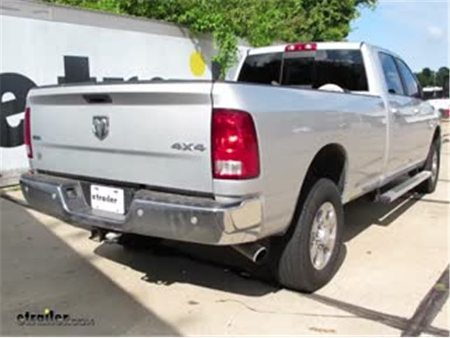B And W Gooseneck Trailer Hitch Installation 2016 Ram 2500 Video