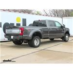 B and W Turnoverball Gooseneck Trailer Hitch Installation - 2017 Ford F-350 Super Duty