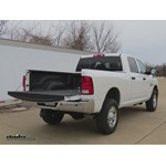 B and W  Gooseneck Trailer Hitch Installation - 2014 Dodge Ram Pickup 2500