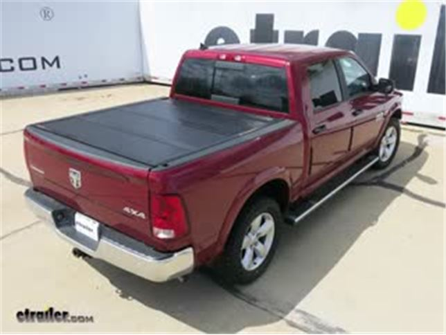 Bakflip F1 Hard Tonneau Cover Installation 2014 Ram 1500 Video Etrailer Com
