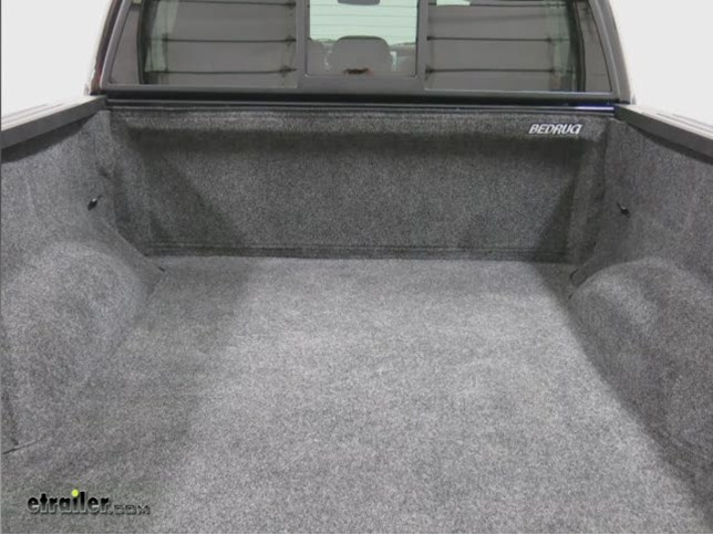 mat rug bed tailgate with attaches bedrug velcro