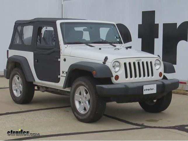 bestop soft front doors installation 2009 jeep wrangler video etrailer com