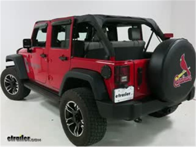 Bestop Full Length Header Bikini Installation   2010 Jeep Wrangler Unlimited  Video | Etrailer.com