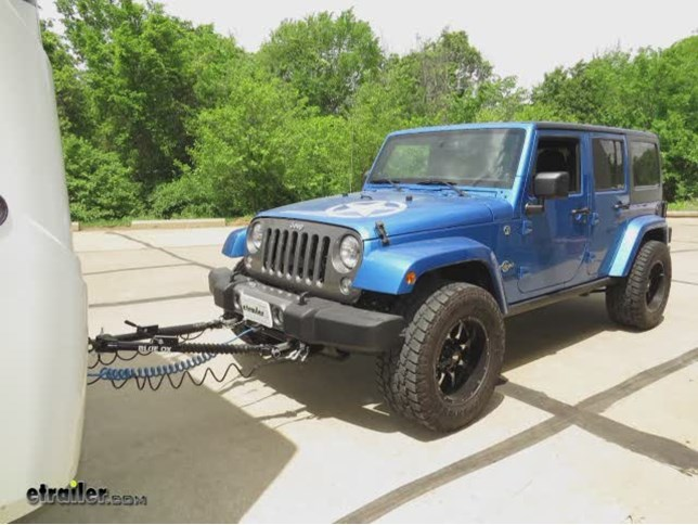 Best Jeep Wrangler Unlimited Tow Bars etrailercom