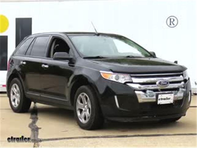 Blue Ox Base Plate Kit Installation  Ford Edge Video Etrailer Com