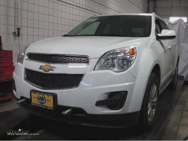 2013 Chevrolet Equinox Base Plates - Blue Ox