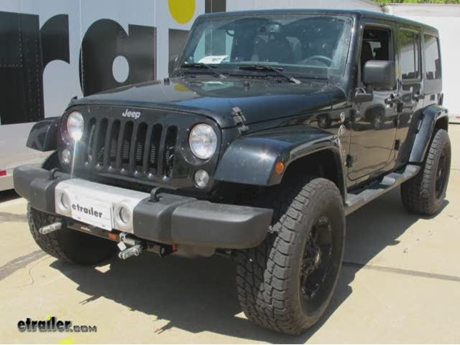 Jeep Wrangler Tow Bar Wiring Diagram : Wiring kit for hitch free download diagrams pictures home
