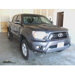 towing capacity of a 2013 toyota tacoma 4 0 double cab 4x4 with factory tow package. Black Bedroom Furniture Sets. Home Design Ideas