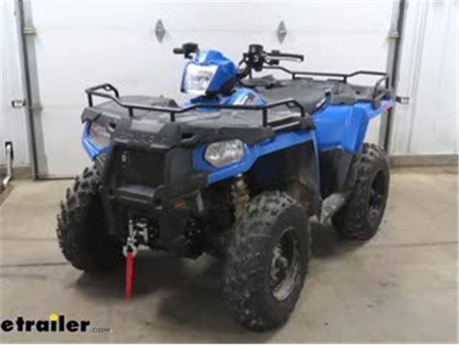 Bulldog Winch Powersports Series ATV Winch - Wire Rope - Roller Fairlead -  2,500 lbs