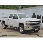 Carr Custom Fit Side Steps Installation - 2015 chevrolet Silverado 2500