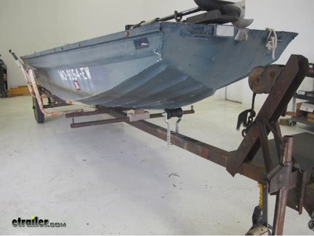 Boat Trailer Split Keel Roller Bracket Set
