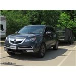 CIPA Dual-View Clip-on Towing Mirror Installation - 2013 Acura MDX