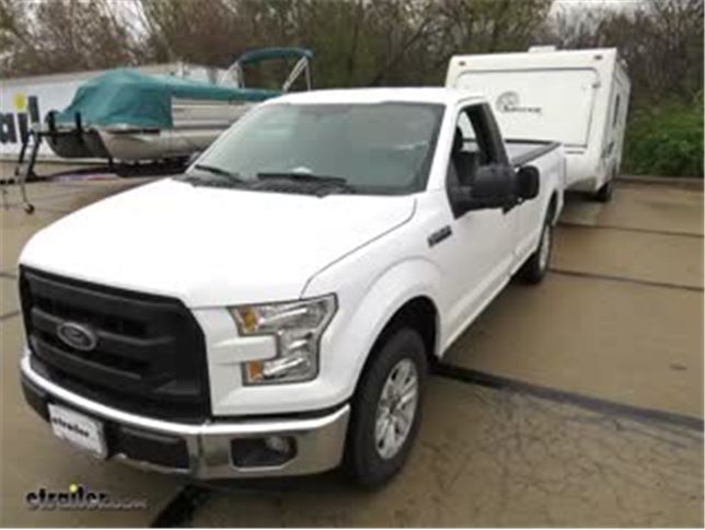 Clip On Towing Mirror Installation 2016 Ford F 150 Video Etrailer