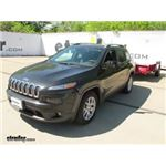 CIPA Dual-View Clip-on Towing Mirror Installation - 2016 Jeep Cherokee