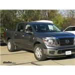 CIPA Clamp On Universal Fit Towing Mirror Installation - 2017 Nissan Titan