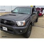 CIPA Clamp On Universal Fit Towing Mirror Installation - 2014 Toyota Tacoma