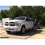CIPA Clip-On Universal Fit Towing Mirrors Installation - 2014 Dodge Ram Pickup
