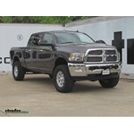 Cruiser Tuf Combo License Plate Frame Installation - 2014 Ram 2500