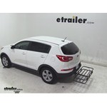 Curt Hitch Cargo Carrier Review - 2013 Kia Sportage